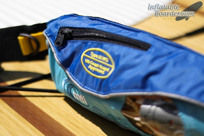 MTI Fluid 2.0 PFD Zippered Pouch