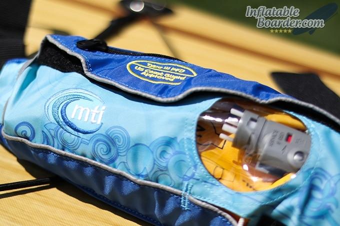 MTI Inflatable Belt Pack PFD