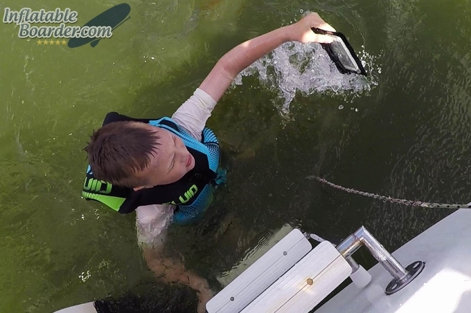 Sea to Summit Waterproof TPU iPhone Case Test