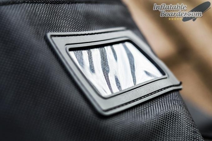 NIXY iSUP Bag Luggage ID Window