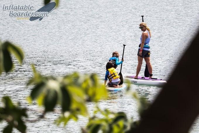 NIXY Newport Inflatable SUP Board