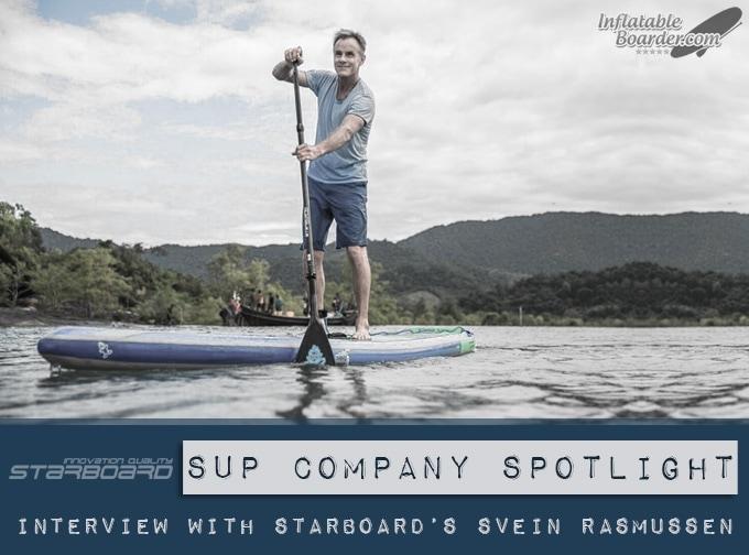 Starboard SUP Svein Rasmussen Interview