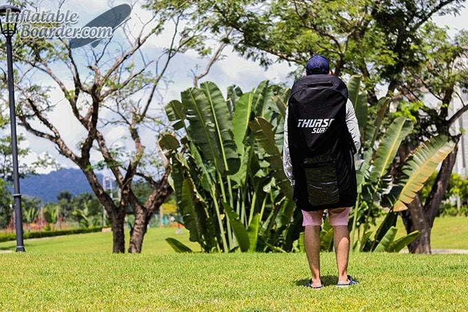 THURSO SUP Backpack Rear