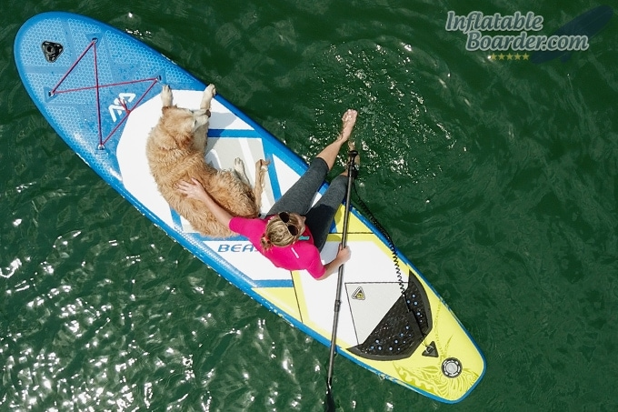 Aqua Marina BEAST Paddling with Dog