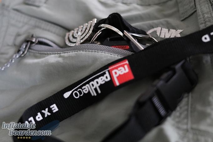 Equatorial Short Zippered Key Pocket