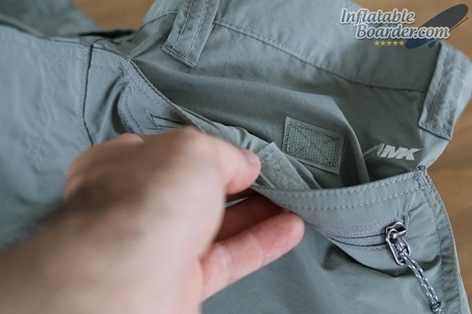 Mens Equatorial Shorts Back Velcro Pocket