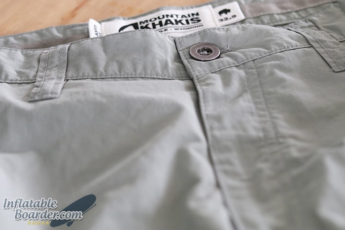 Mountain Khakis Equatorial Short Belt Loops