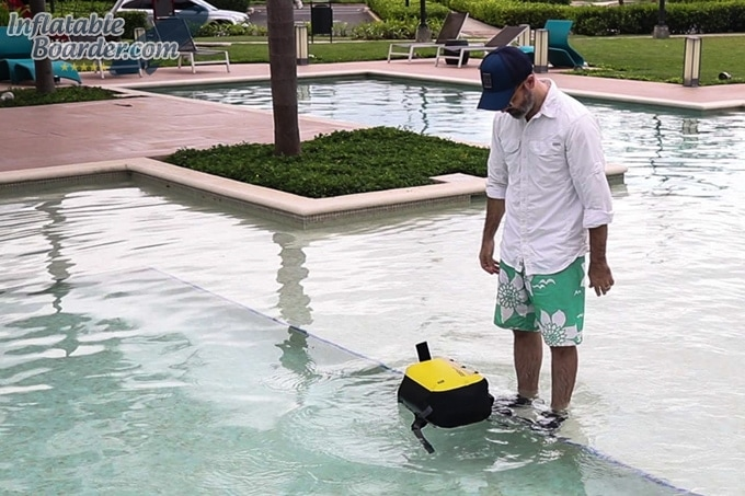 OverBoard Classic Waterproof Backpack Floating