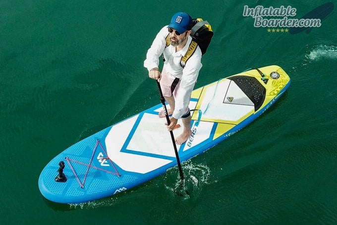 OverBoard Classic Waterproof Backpack Paddleboarding