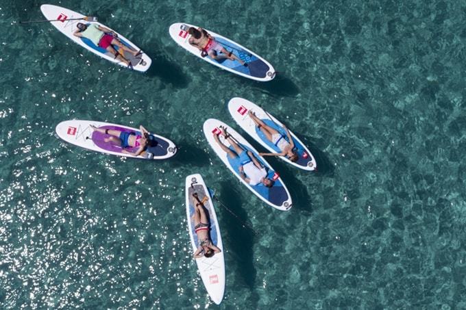 2018 Red Paddle Inflatable SUPs
