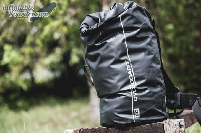 60L OverBoard Dry Tube Backpack Front