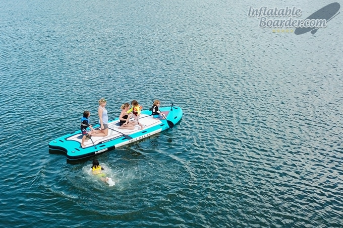 Aqua Marina MEGA Inflatable Paddle Board
