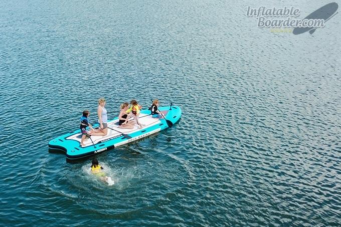 Aqua Marina MEGA Inflatable Paddle Board