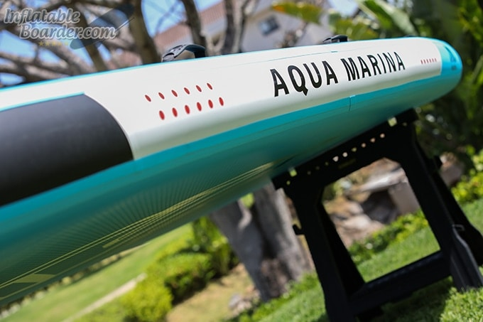 Aqua Marina MEGA SUP Rail Thickness
