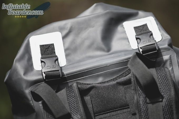 OverBoard Dry Tube Backpack Buckles