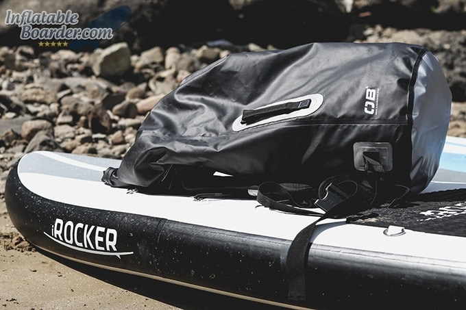 OverBoard Dry Tube Backpack Paddleboarding
