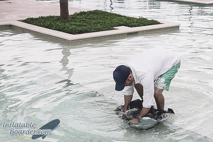 OverBoard Dry Tube Backpack Waterproof Test