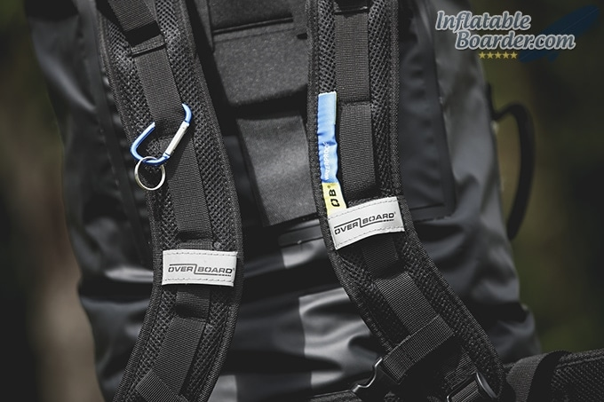 OverBoard Dry Tube Removable Backpack Straps