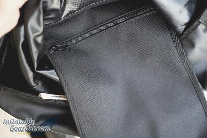OverBoard Waterproof Backpack Interior Storage