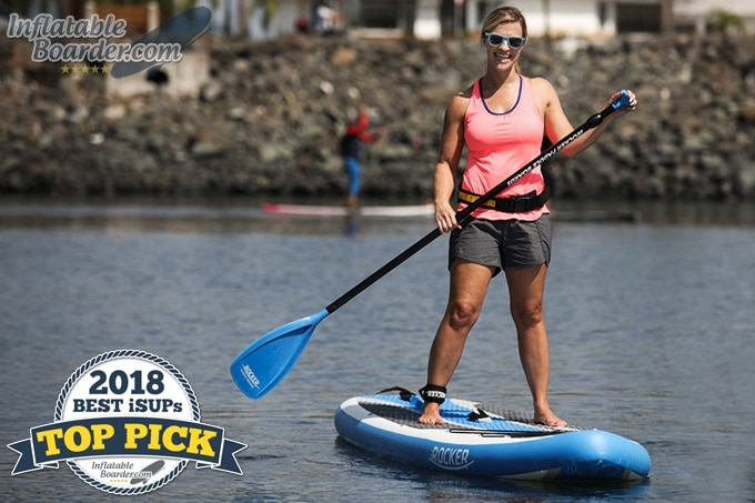 "2018 iROCKER CRUISER 10'6"" Inflatable Paddle Board"