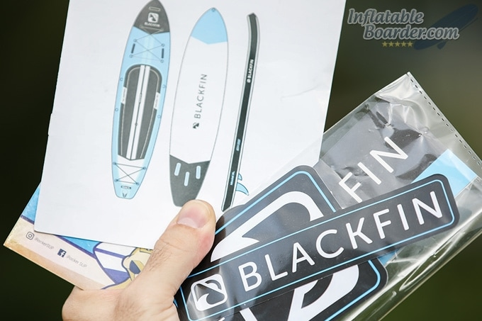 Blackfin SUP Stickers