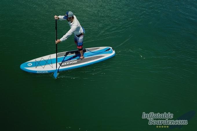 Inflatable iROCKER CRUISER Paddle Board