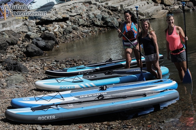 2018 iROCKER Inflatable Paddle Boards