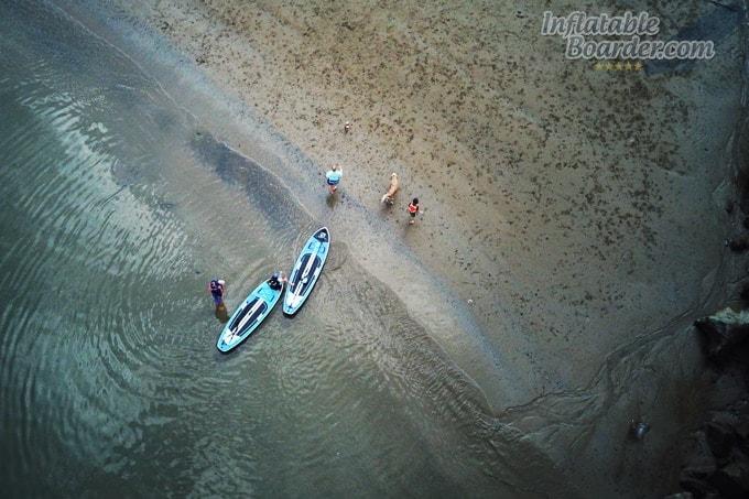 BLACKFIN SUP Beach Shot