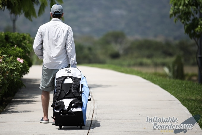 BLACKFIN SUP Wheeled Travel Backpack