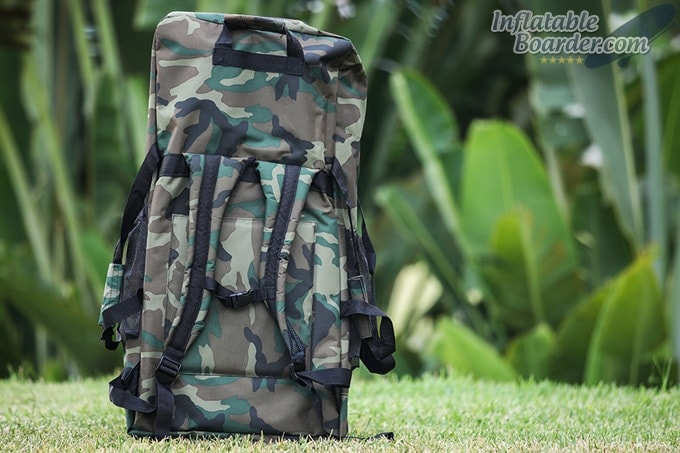 HAWK SUP Backpack Back