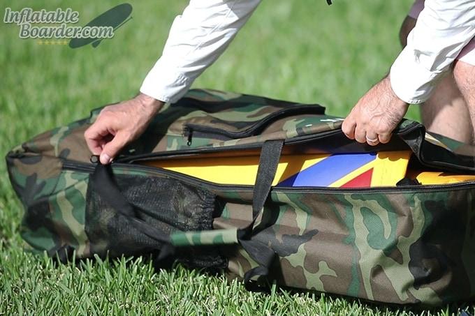 HAWK SUP Backpack Zippers