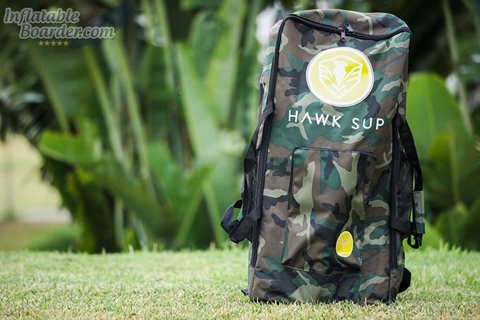 HAWK SUP Camo Backpack