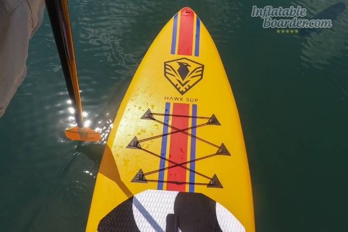 HAWK SUP Copacabana iSUP Nose