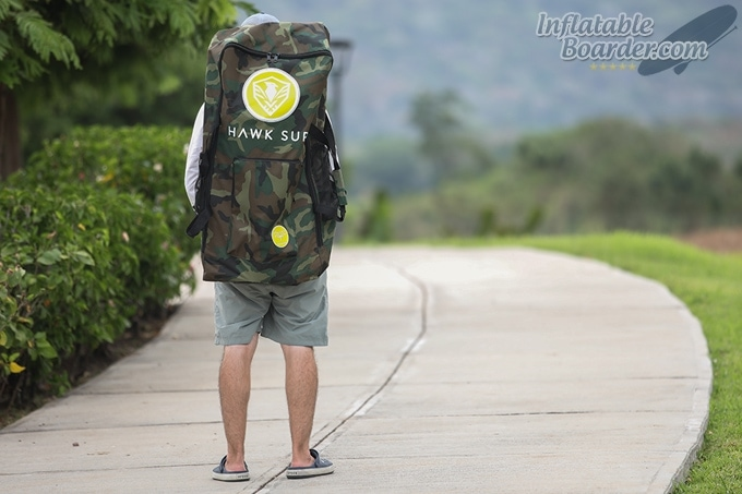 HAWK SUP Travel Backpack