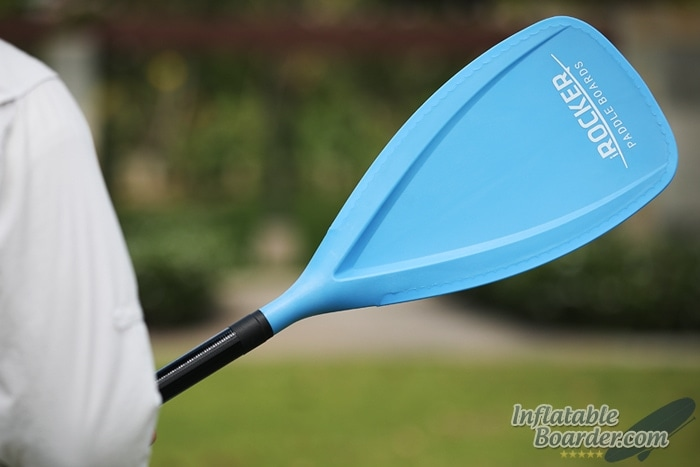 Blue iROCKER SUP Paddle