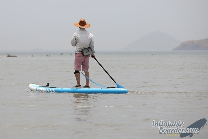 iROCKER Inflatable Paddle Board