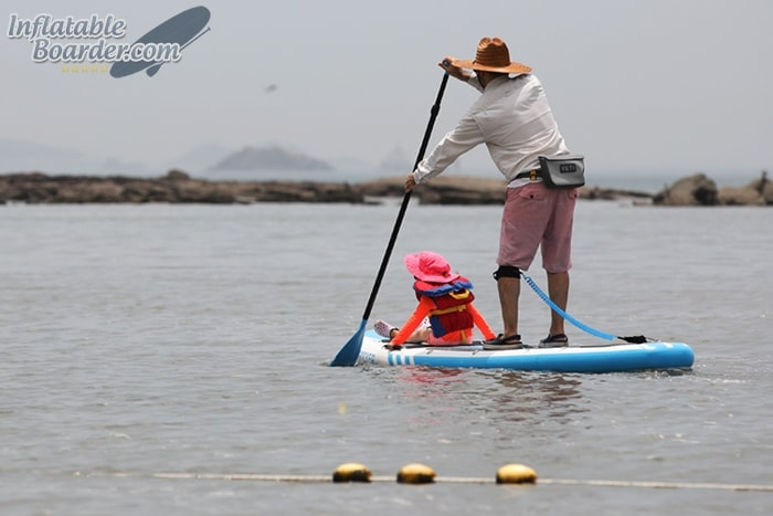 Paddling iROCKER SUP Child