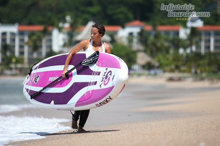 Carrying NIXY Venice SUP