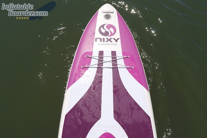 Inflatable Paddle Board GoPro Photo