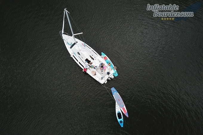 Jimmy Styks Inflatable SUPs Sailing