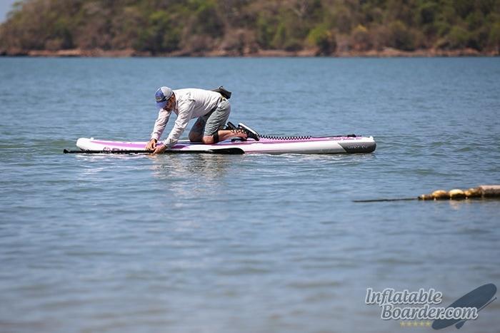NIXY Bungee Paddle Holder