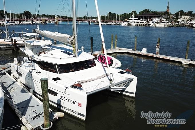 NIXY Venice on Catamaran