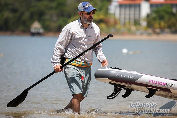Pulling NIXY Venice on Beach