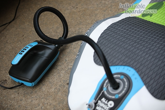 Seamax Electric Paddle Board Pump Inflating