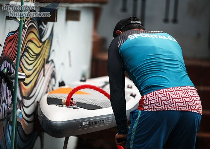 Inflatable SUP Racing Board