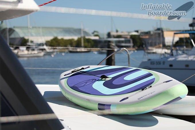Jimmy Styks Asana on Boat