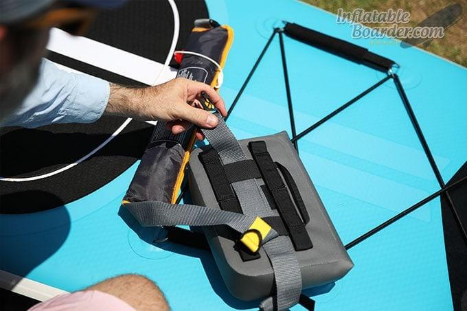 MTI 16g Belt PFD/YETI SideKick Dry Hack