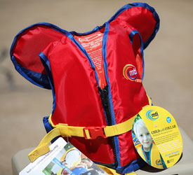 MTI Adventurewear Child Collar Life Jacket