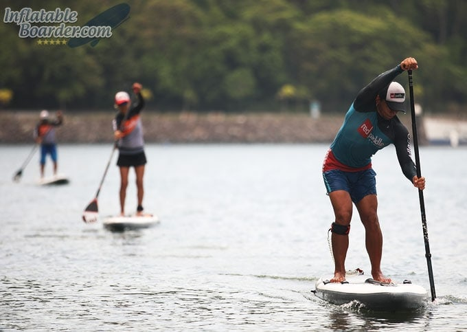 Paddle Board Race Training