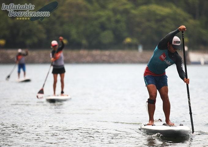 Paddle Board Race Training
